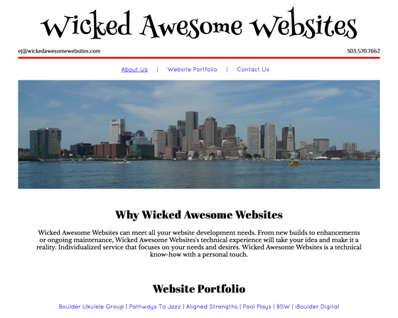 Wicked Awesome Websites